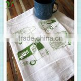 Printed tea towel China manufacturer