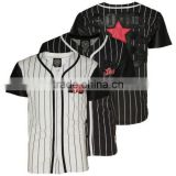 High Quality Latest Designed Custom Men's Baseball Shirts