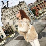 Latest Design Factory Price Good Quality Elegant Sheep skin Lamb Fur Jackets Leather For Women