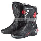 Custom made leather boots / Safety motorbike boots