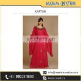 Best Women Apparel Kaftan Dress Available with Uniquely Design Sleeves
