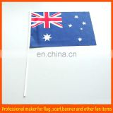 High quality Australia custom stick flags