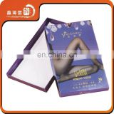 Cucstom Sex Silk Stockings Packaging Boxes