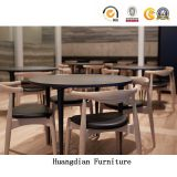 Hotel Restaurant Furniture Wooden Dining Chair and Table Set