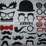34pcs Photo Booth Props Hat Mustache On A Stick Wedding Party Photobooth Favors