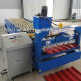 Artifical Colourful Roof Tile Plate Forming Machine