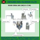 Chocolate cereal bar production line/candy bar making machine/puffed rice bar production