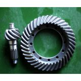 Carbon Steel Spiral Bevel Gear Pair For Construction Machinery