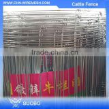 Cattle Rail Fence Livestock Fence/Corral Horse Fence/Cattle Fence (Sgs Factory) Grassland Wire Mesh Fence