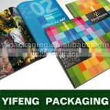 Colorful Customizable Brochure Printing hardcover books print factory