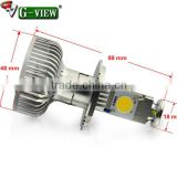 High brightnessled led headlight for car H4 H7 H8 H9 H10 H11 9005 9006 creechips color 6000K/headlight with 1800lm 12-24V