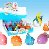 baby bath toys, water squirter, ocean fish, phthalate free, BPA free, PAHS free