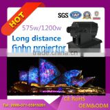 weddings decoration 575 watt hight brightness outdoor lager image projector 40000 lumens