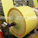 Global Selling China 100% Virgin Tubular Polypropylene White PP Woven Fabric Bag Sack In Roll Low Price