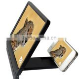 NEW Produces OEM acceptable mobile phone screen Magnifier easlier to watch 3D TV and video for all mobile cellphone