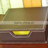 Pu Leather Case Sticky Note wholesaler