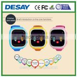 Desay SOS Two-way Calling GSM(2G) SIM BT3.0 Anti-lost GPS/LBS Tracking Watch IOS Android for kids DS-C602