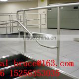 6063 T5 powder coated rail profile & aluminium factory/anodized aluminium railing profile