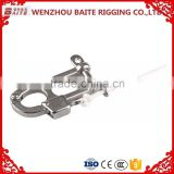 Stainless Steel AISI 304 316 100MM Length European style Quick Release Shackle Adjustable Shackle