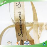 Custom woven ribbon, woven tape, printed satin ribbon                                                                                                         Supplier's Choice