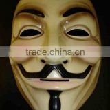 Official V for Vendetta Mask Guy Fawkes Anonymous Halloween fancy dress costume MK109