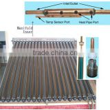Copper pipe collector for solar water heater