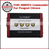 Good feedback FVDI ABRITES Commander For Peugeot Citroen (V6.7) Software USB Dongle 2016 new arrival