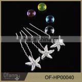 Bridal Wedding Jewelry Starfish Shape Alloy Hair Accessory                                                                         Quality Choice