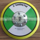 4'/5'/6' sanding pad with velcro for pneumatic tools