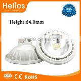 FoshanHelios No flickering No Glare CE Rohs 15W COB GU53 AR111, AR111 LED, G53 AR111 Lamps