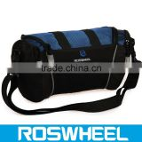 Wholesale high quality waterproof canvas bicycle handlebar bag 11494 bike handlebar clamp bag