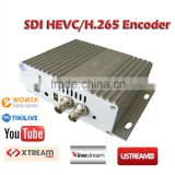 Mini H.265 HEVC Encoder one channel HDMI SDI to IP Audio Video IPTV Streaming Server Encoder
