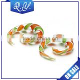 Piercing China Pyrex Glass Spiral Ear Taper Swirl Plugs Piercing Expander Stretcher Piercing Jewelry Wholesale