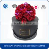 Custom design luxury wholesale cardboard paper round flower hat gift packaging box                                                                         Quality Choice