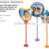 DIY Inkjet printable photo balloon, A4 and A3+ size