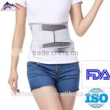Adjustable self heating waist protector lumbar back pad belt support