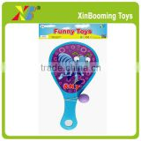 Beach paddle ball racket toy