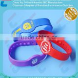 Door Access Control Silicone RFID Wristband with cheaper price