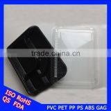 Food-grade customized with different specifications disposable plastic lunch boxes packaged takeaway
