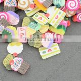 Decorative Nail Art Polymer Clay Decals Pieces Supplies, Mixed Shape, about 10000pcs/bag (MRMJ-R036-05)