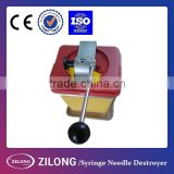 durable and safe Syringe Needle Destroyer with CE certificate