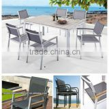 Shunde WPC factory synthetic plastic wood furniture---wood plastic composite furniture FCO-P19
