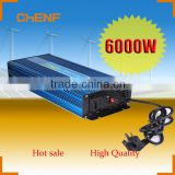Chenf 6000W Energy Saving DC to AC With European Socket and USB Output Off Grid Solar Power Inverter With Charger