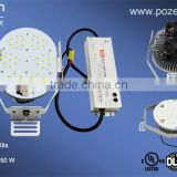 Hot Sale 80W LED Retrofit Kits to replace 250W Metal Halide with DLC and UL Listed 5 Years Warranty