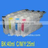 Ink cartridge/CISS for brother LC1220,LC1240,LC71,LC75, DCP-J525W, DCP-J725DW,DCP-J925DW,MFC-J430W
