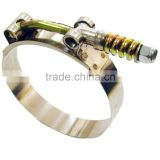 19mm bandwidth Stainless steel High pressure High Torque Spring loaded T-bolt hose clamp