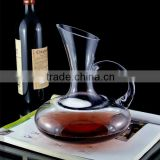 Brandy decanter,wine decanter with handle