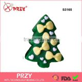 S3165 Christmas tree silicone soap mold , silicone soap mold