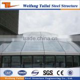 New Design Steel Structure Skylight Dome Prefab Building