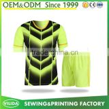 wholesale 100%polyester breathable sublimated soccer jersey cheap mens football uniforms